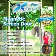 Flux Phenom Reinforced Magnetic Screen Door
