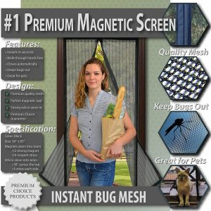 Premium Magnetic Screen Door