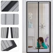 Velcro screen door