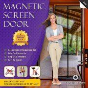 """Easy Screen Doors Magnetic Screen Door 36""""x82"""""""