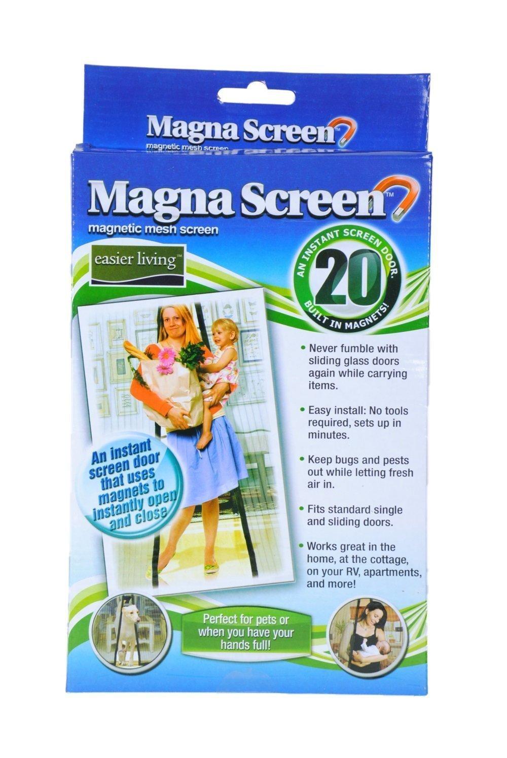 Magna Mesh Screen Has 20 Magnets Magnetic Screen Door