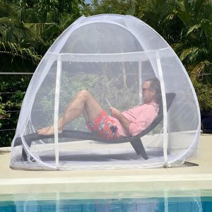 EVEN NATURALS Luxury Pop Up Mosquito Net Tent