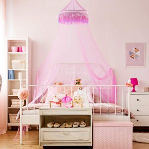 Goplus Bed Canopy Princess
