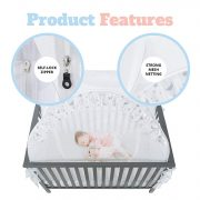 Premium Baby Bed Canopy Netting Cover