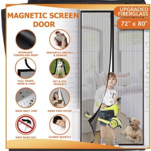 Meiz screen door