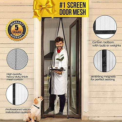 Lazy Monk Magnetic Screen Door