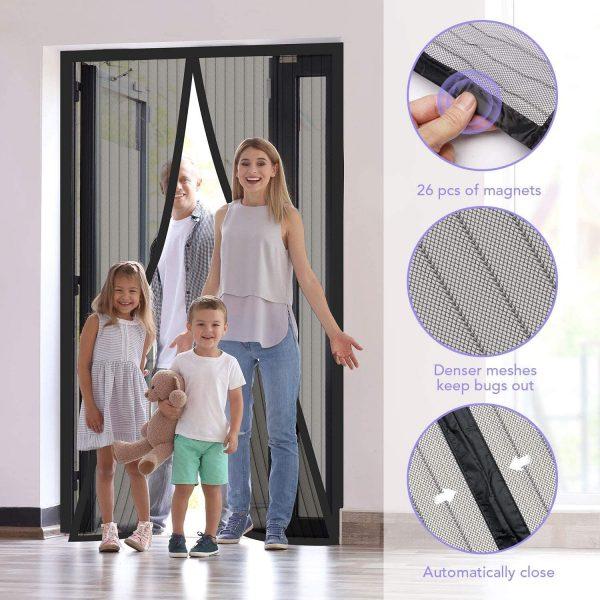 Delxo Magnetic Screen Door