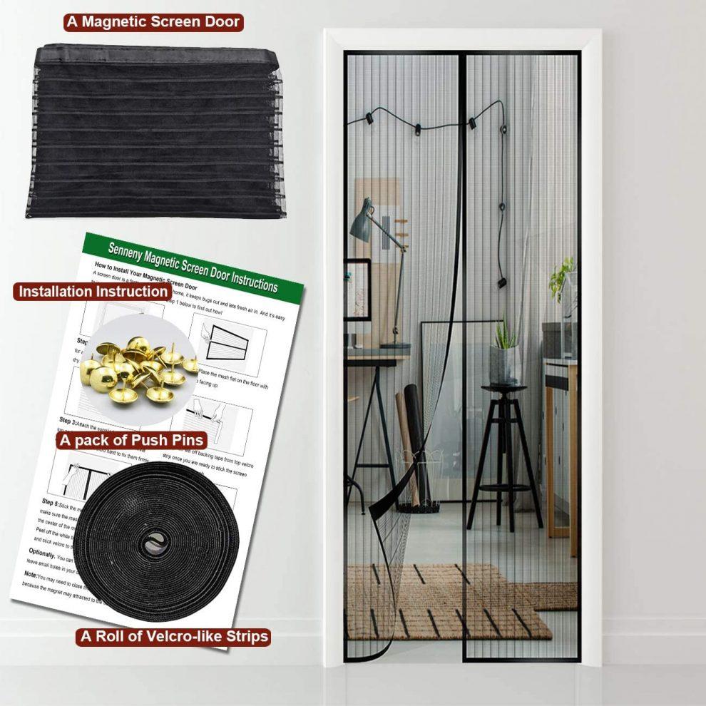Senneny-Magnetic-Screen-Door
